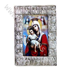 """Икона """"Св. Богородица - Достойно Ест"""", Черепишки обков"""