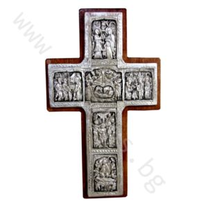 "Кръст ""Рождество Христово"" - Рилски посребрен"