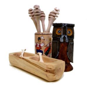 Souvenirs of wood