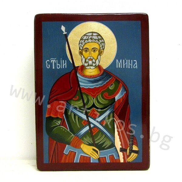 painted icon St. Menas