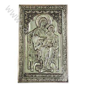 """Икона - """"Св. Богородица Всецарица"""" на трон."""