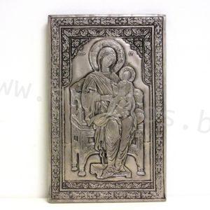 Богородица на трон