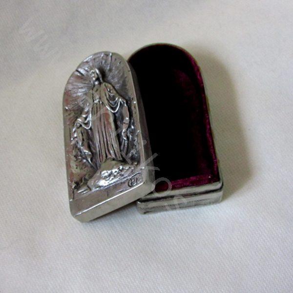 """Кутийка за бижу - """"Христос"""" - никелирана."""