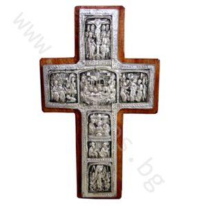 "Кръст ""Разпятие Христово"" - Рилски посребрен"