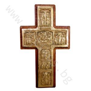 """Кръст """"Разпятие Христово"""" - Рилски позлатен"""