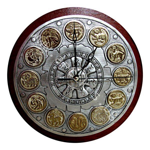 Часовник, Празбългарски календар, Розета от Плиска