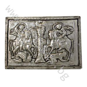 """Икона - """"Св. Георги и Св. Димитър"""""""