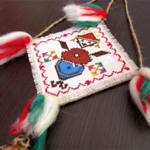 BULGARIAN EMBROIDERY AND KNITTING