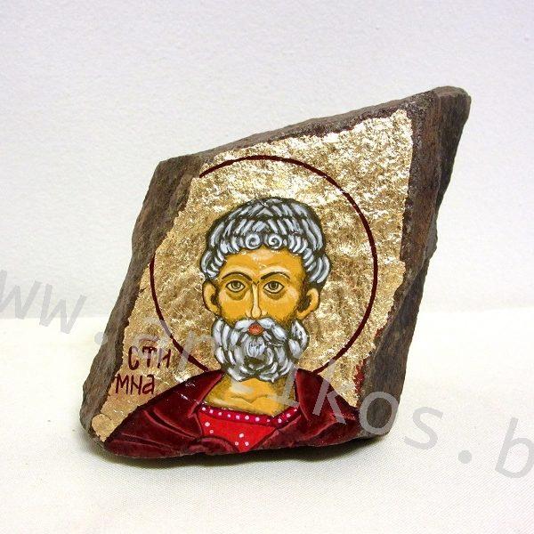 икона върху камък