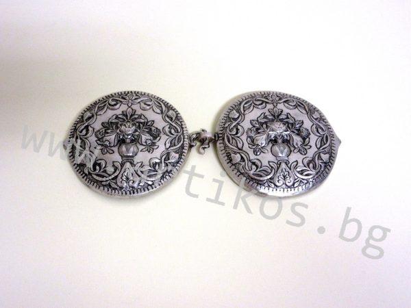 кръгли пафти сребро