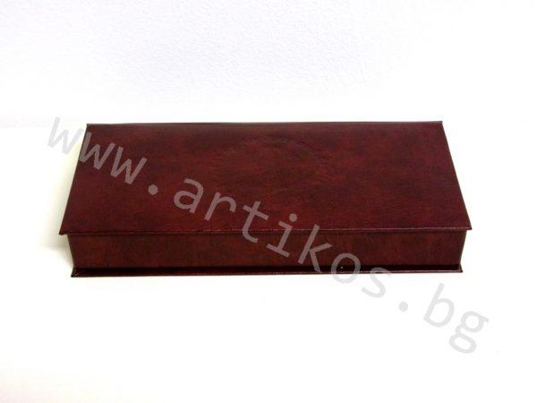 пафта кожена кутия