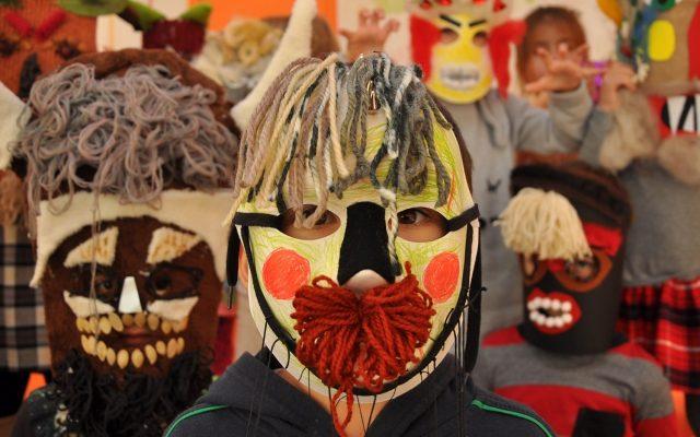 работилница кукерска маска