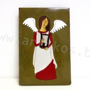 ангел арфа