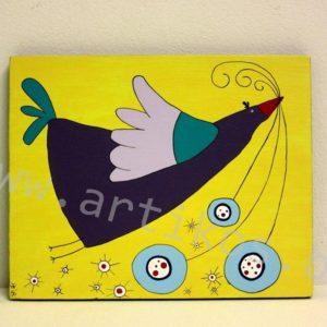 пиле картина