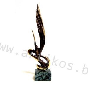 бронзова пластика жар-птица