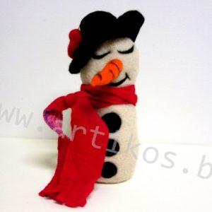 снежен човек подарък