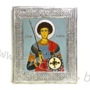 рисувана икона Св. Георги