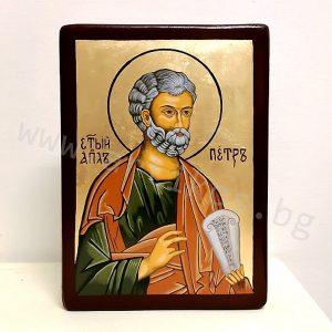 рисувана икона Свети Петър