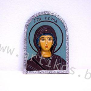 рисувана икона Св. Петка