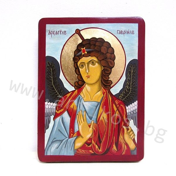 рисувана икона архангел