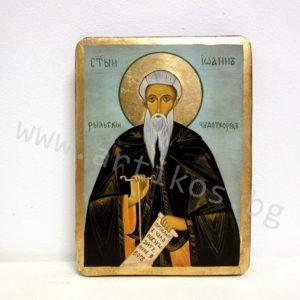 рисувана икона Св. Иван Рилски