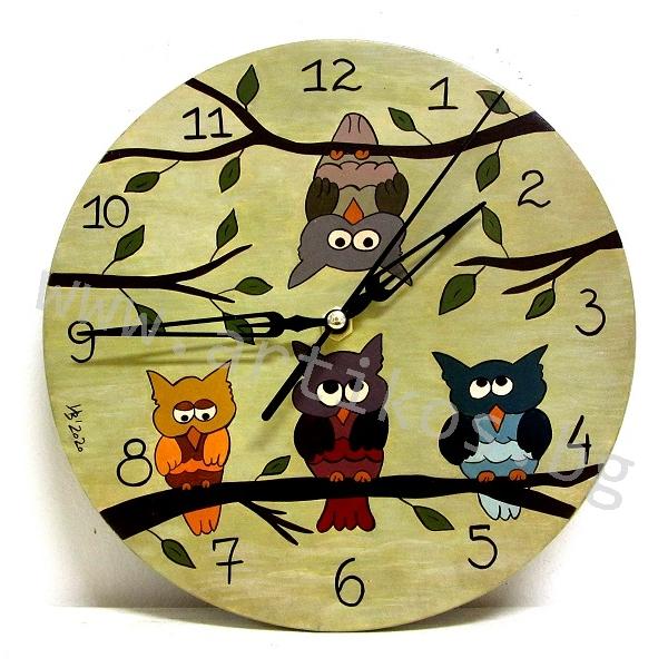 часовник с бухали