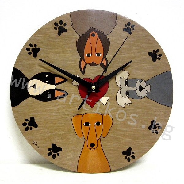 часовник с кучета