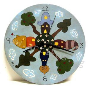 рисуван часовник