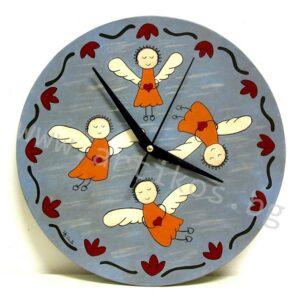 часовник с ангели
