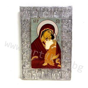 рисувана икона Богородица