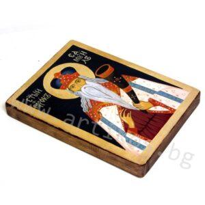 рисувана икона Пророк Самуил