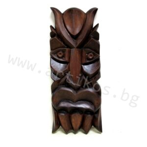 кукерска маска дърворезба