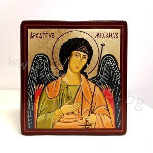 рисувана икона Архангел Михаил